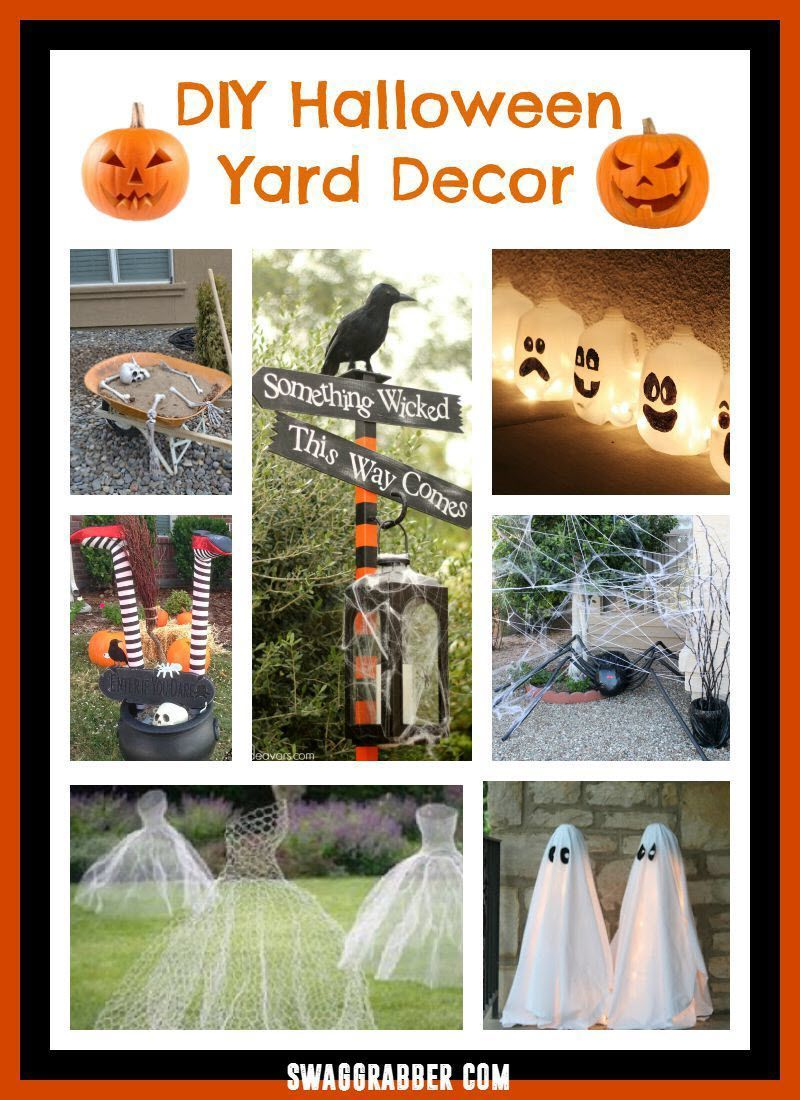 diy halloween yard decor ideas | fun halloween pins | pinterest