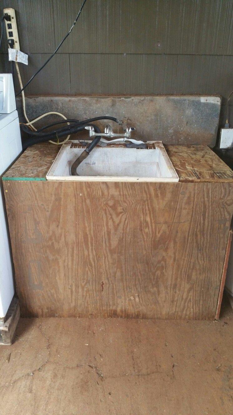 """DIY outdoor Sink """"Got Counter Top"""""""