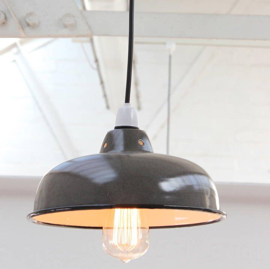 Coastu enamel pendant shade table lamp shades downstairs bathroom