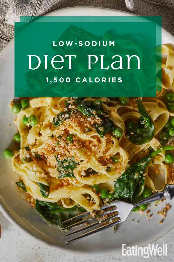 Photo of Low-Sodium Diet Plan: 1,500 Calories