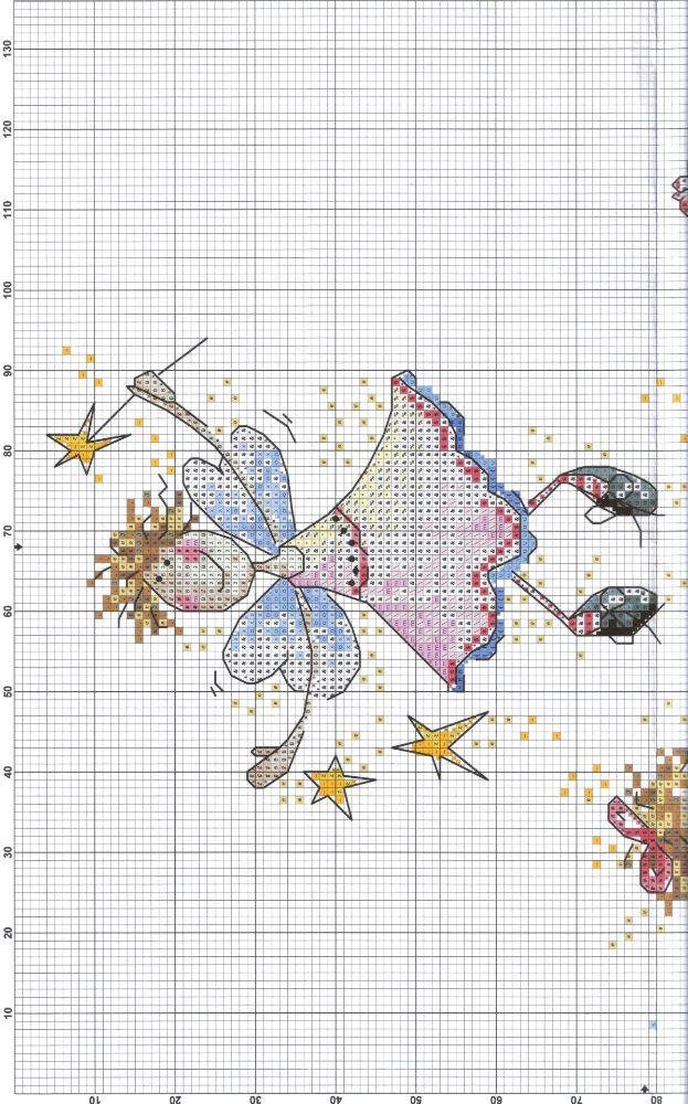 point de croix - cross stitch