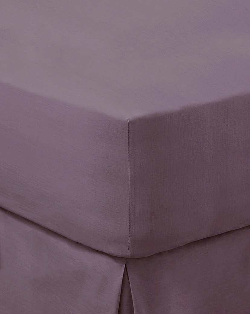200 Tc Plain Dyed Percale Fitted Sheet In 2021 Plain Fitted Sheet Jd Williams