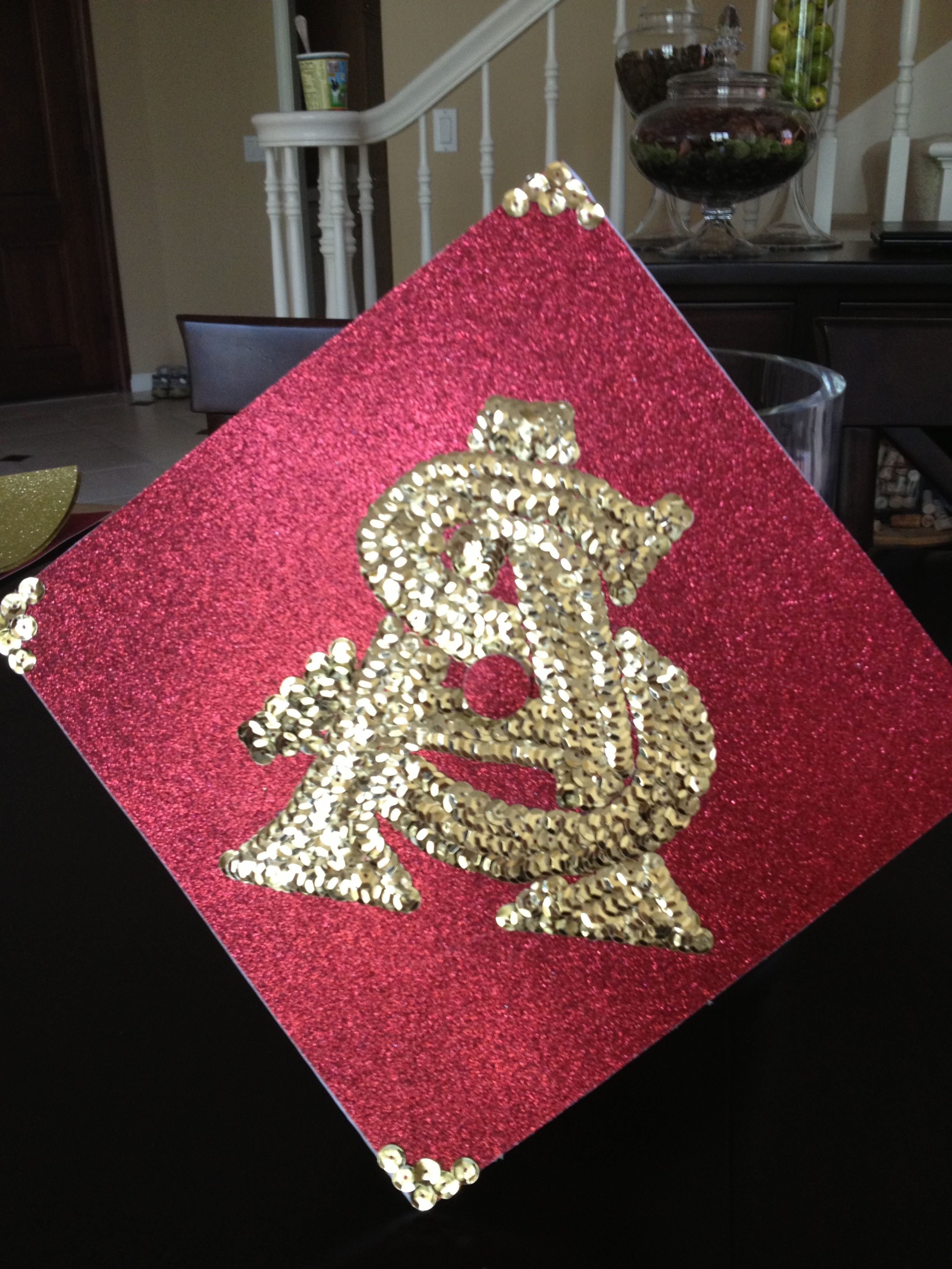 High school graduation cap  ASU  Arizona State University ... 86d6acea3857