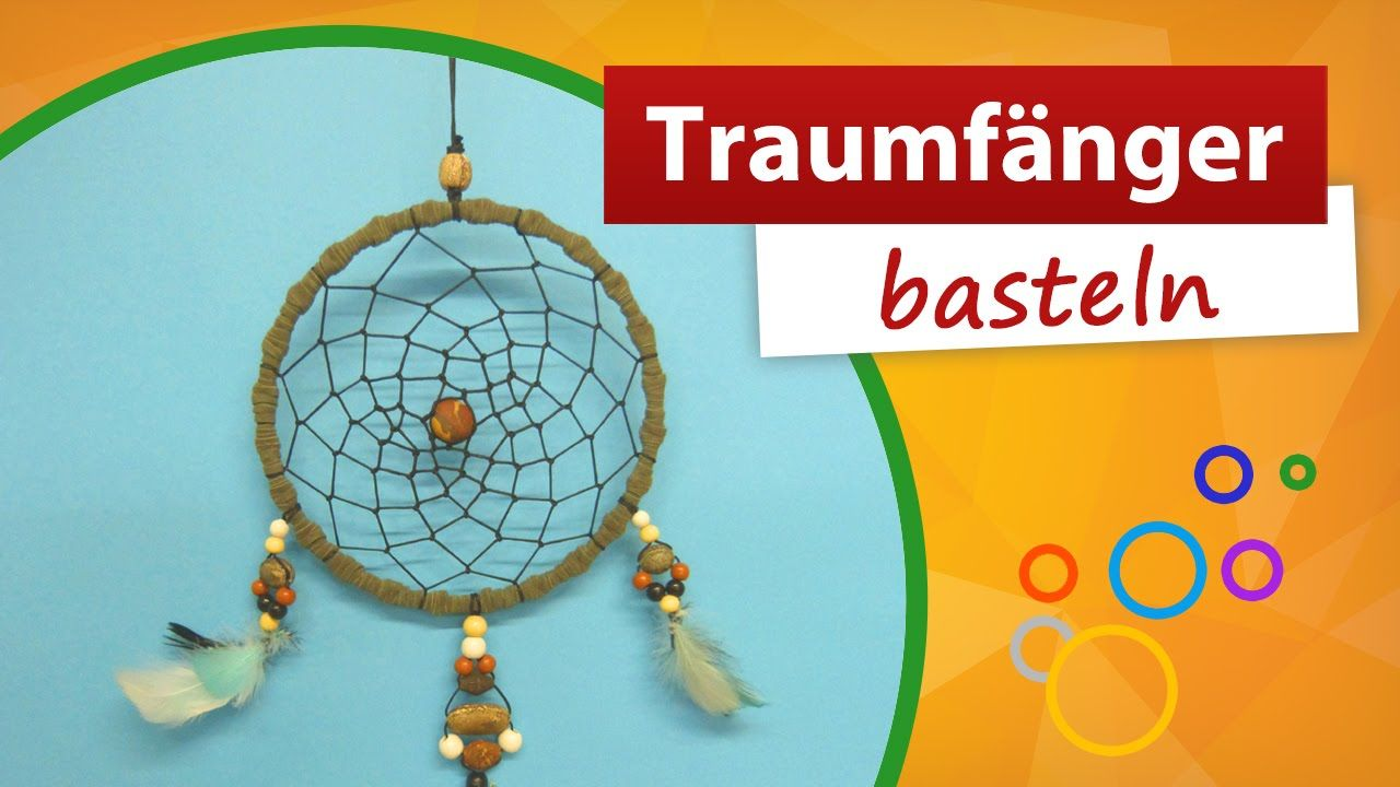 Traumfänger Bastelanleitung Trendmarkt24 Bastelideen