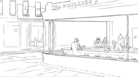 Philadelphia Phillies Logo coloring page   Free Printable Coloring ...   267x480