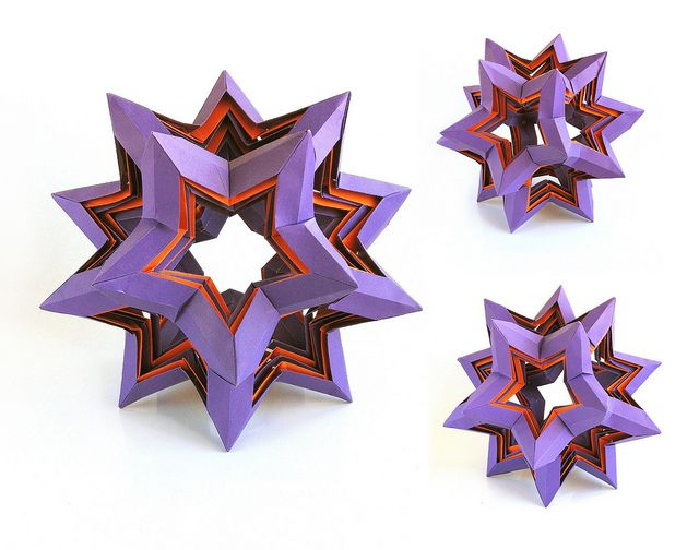 Origami Star Dodecahedron By Francesco Mancini