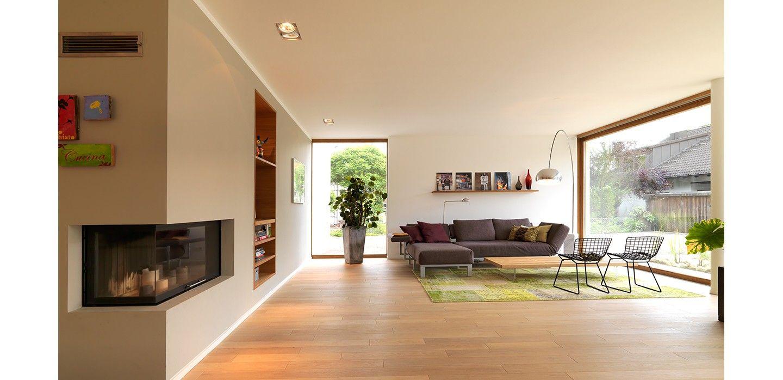 bodentiefe fenster Wohnen, Minimalistische wohnzimmer