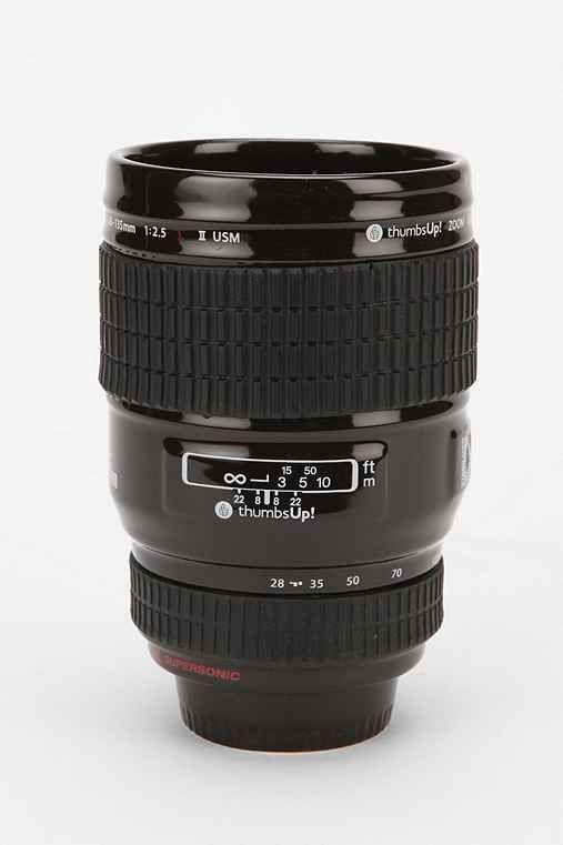 Urban Outfitters Ceramic Camera Mug $24