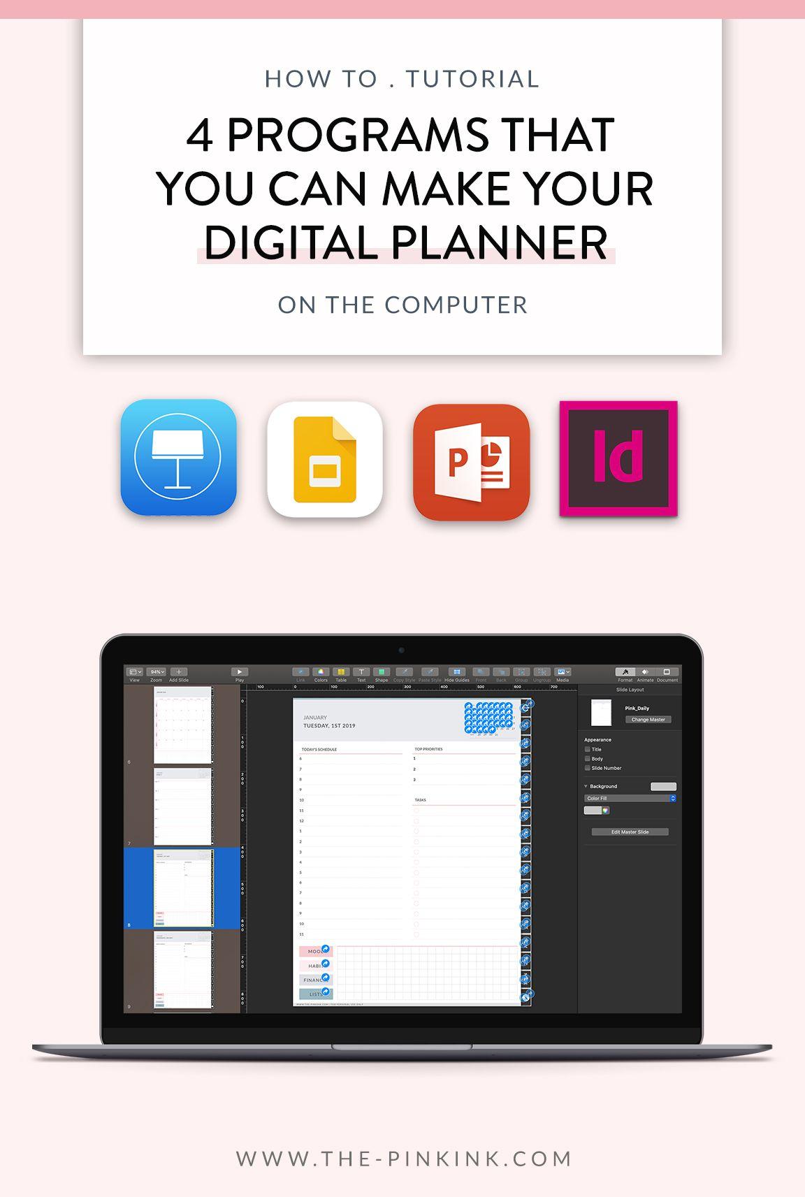 4 Programs That Make Digital Planner A Breeze (+ What