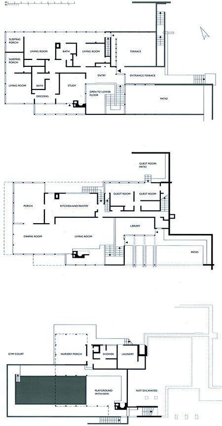 ARCHI MAPS  Photo architecture Pinterest Richard neutra - programme pour plan de maison