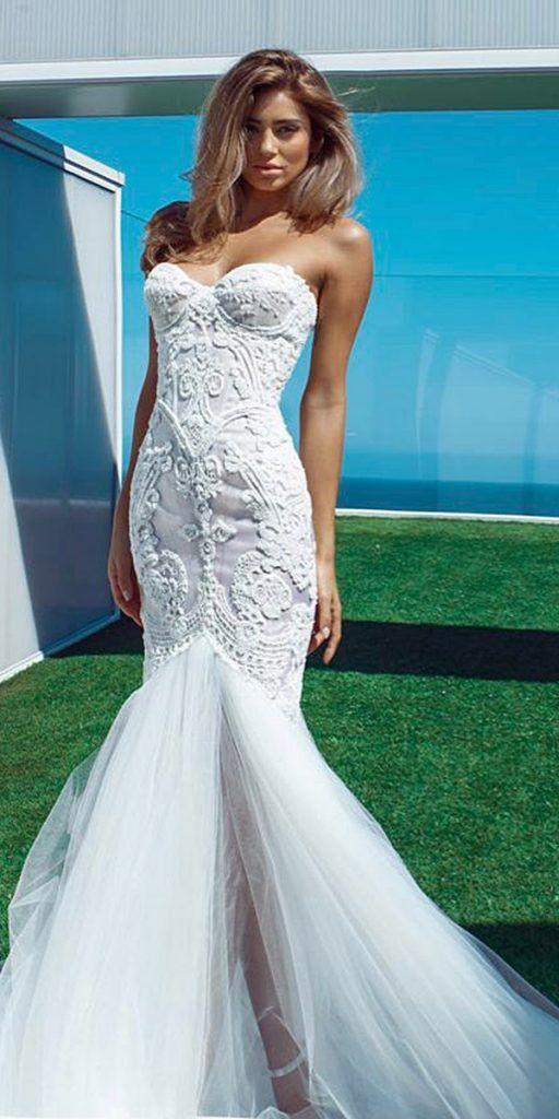 21 Sweetheart Mermaid Wedding Dresses