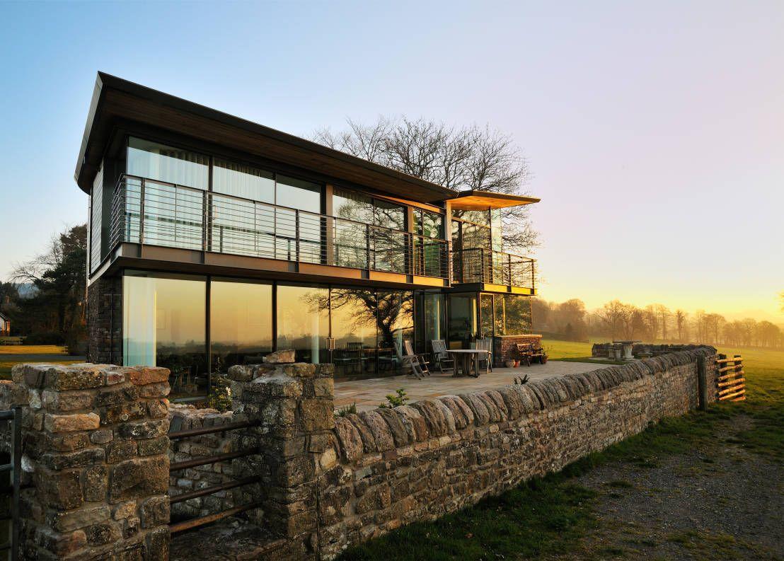 Das transparente Haus | mediterrane Architektur, Moderne häuser und ...