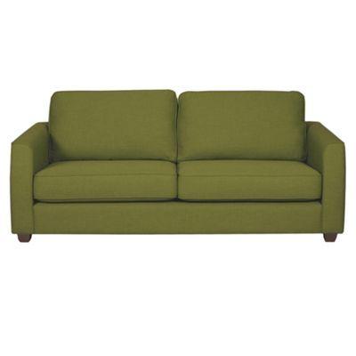 Miraculous Debenhams Olive Green Dante Sofa Bed With Dark Wood Feet Alphanode Cool Chair Designs And Ideas Alphanodeonline