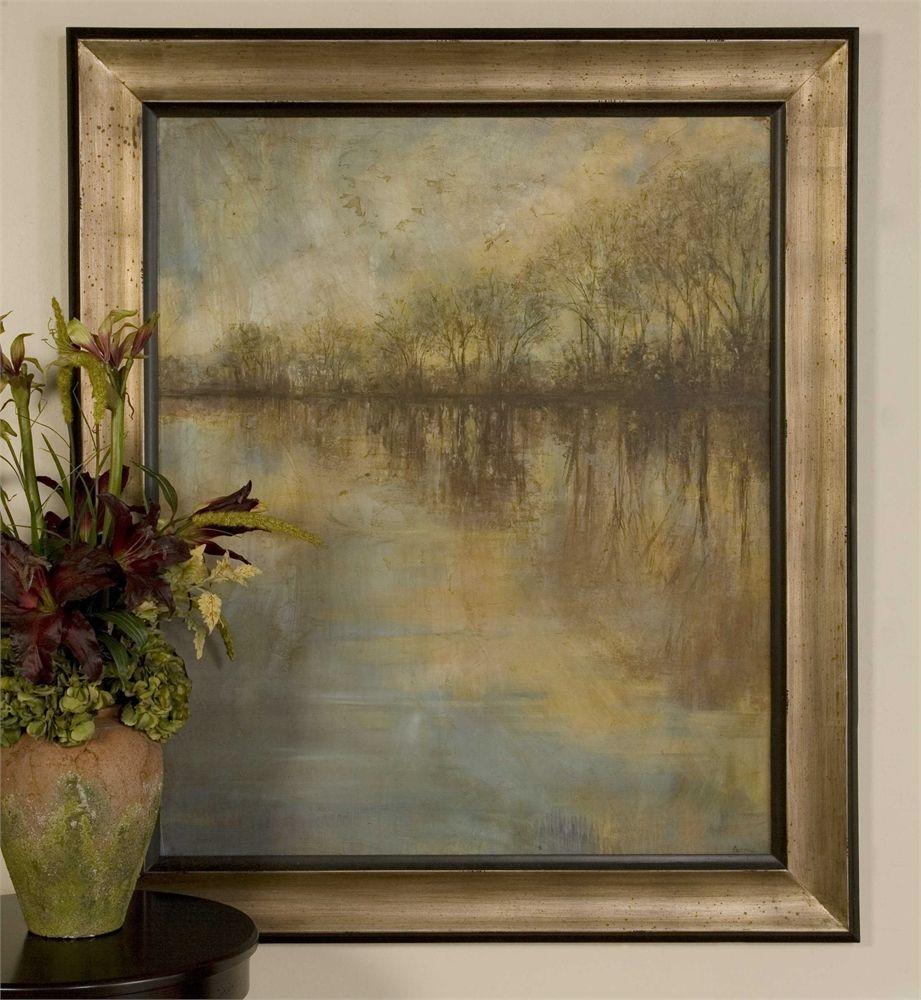 Uttermost winter glow framed art dining rooms pinterest window