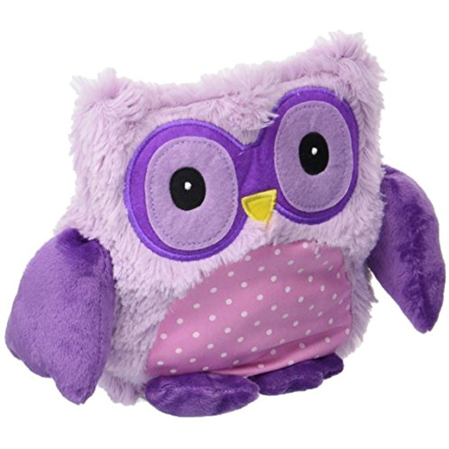 Intelex Hooty Microwaveable Plush, Purple * More info