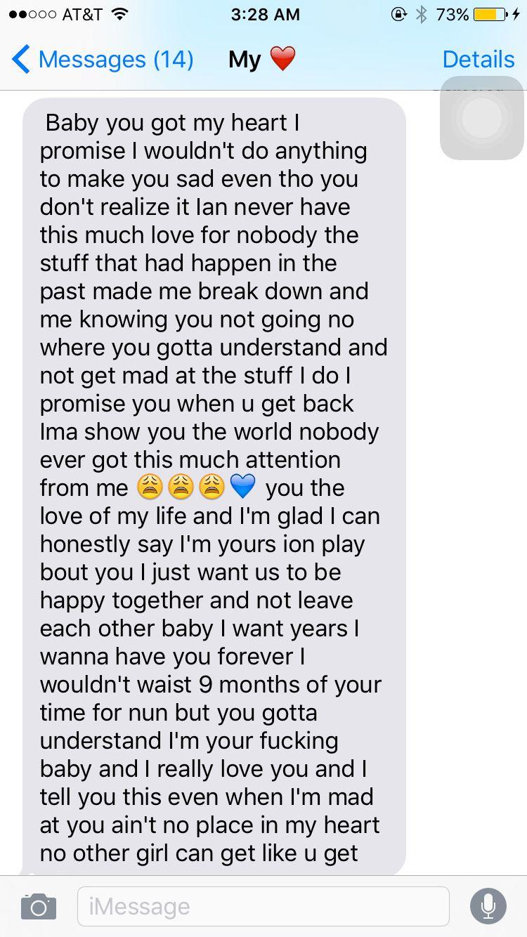 I love my boyfriend follow me bonitadestiny paragraph