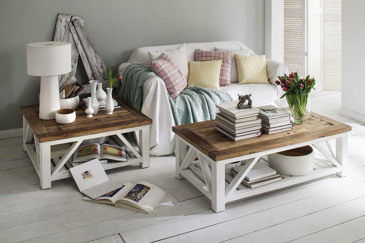 landhaus couchtisch no 1 wei cooper raumgestaltung. Black Bedroom Furniture Sets. Home Design Ideas