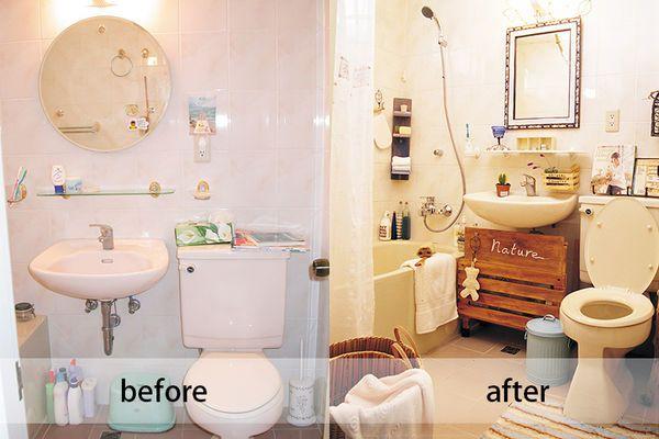 浴室改觀!大改造春夏氣息海洋風! | Sweet home, Sink, Decor