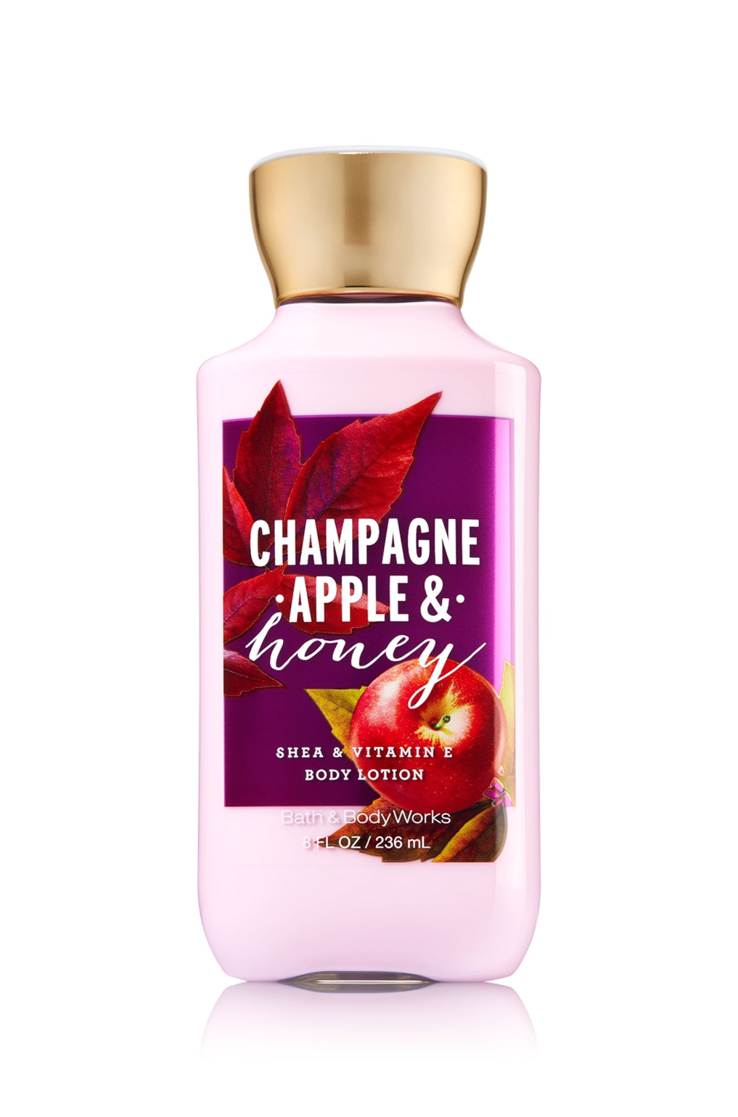 Champagne Apple Honey Body Lotion Signature Collection Bath