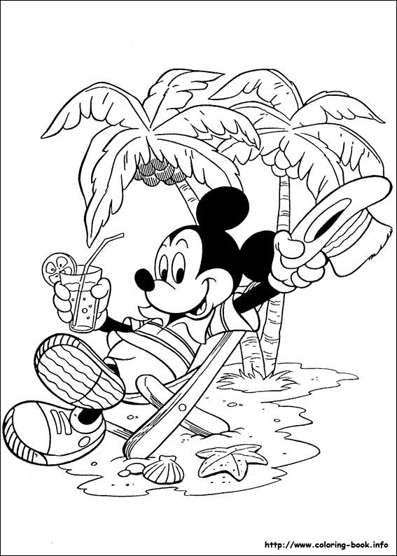 Mickey coloring picture   Mickey\'s coloring pages   Pinterest ...