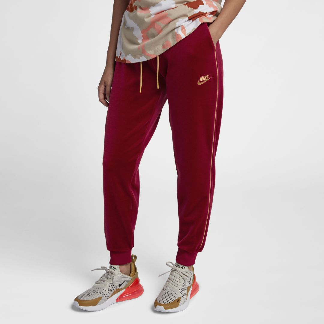 look for many styles the best Nike Sportswear Women's Velour Pants Size 2XL (Red Crush ...