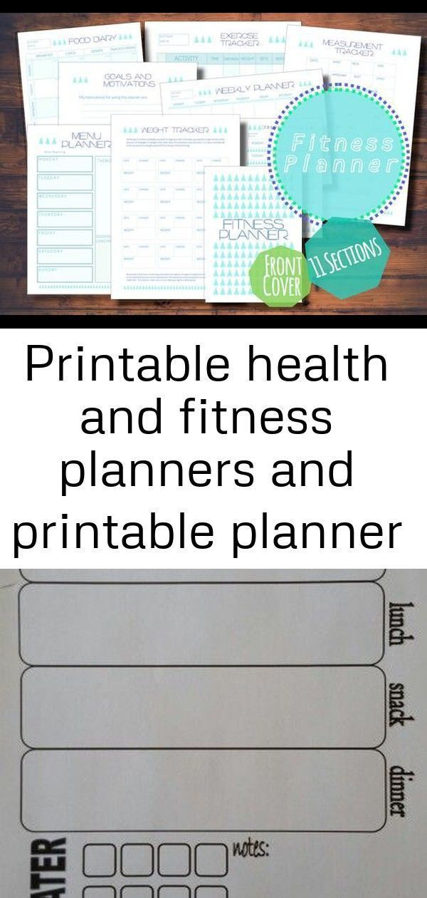 Printable health and fitness planners and printable planner stickers 2 #imthirst... -  Printable hea...