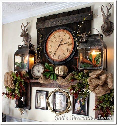 Christmas Shelf A New Year 2015 Home Decor Decor