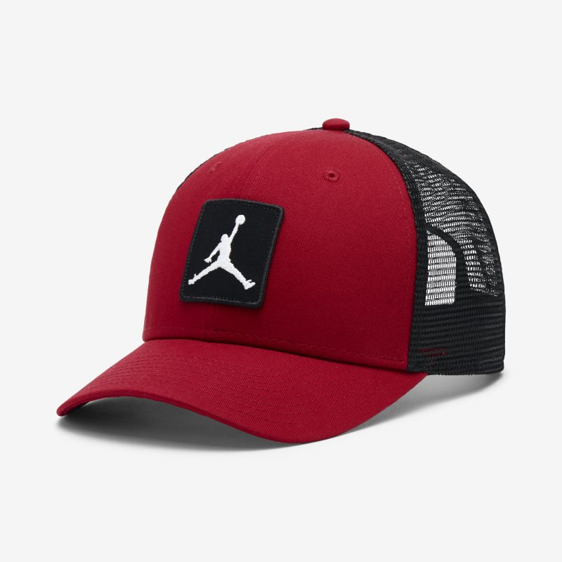 c4ab31ee8ab Jordan Jumpman Classic99 Trucker Adjustable Hat - Red