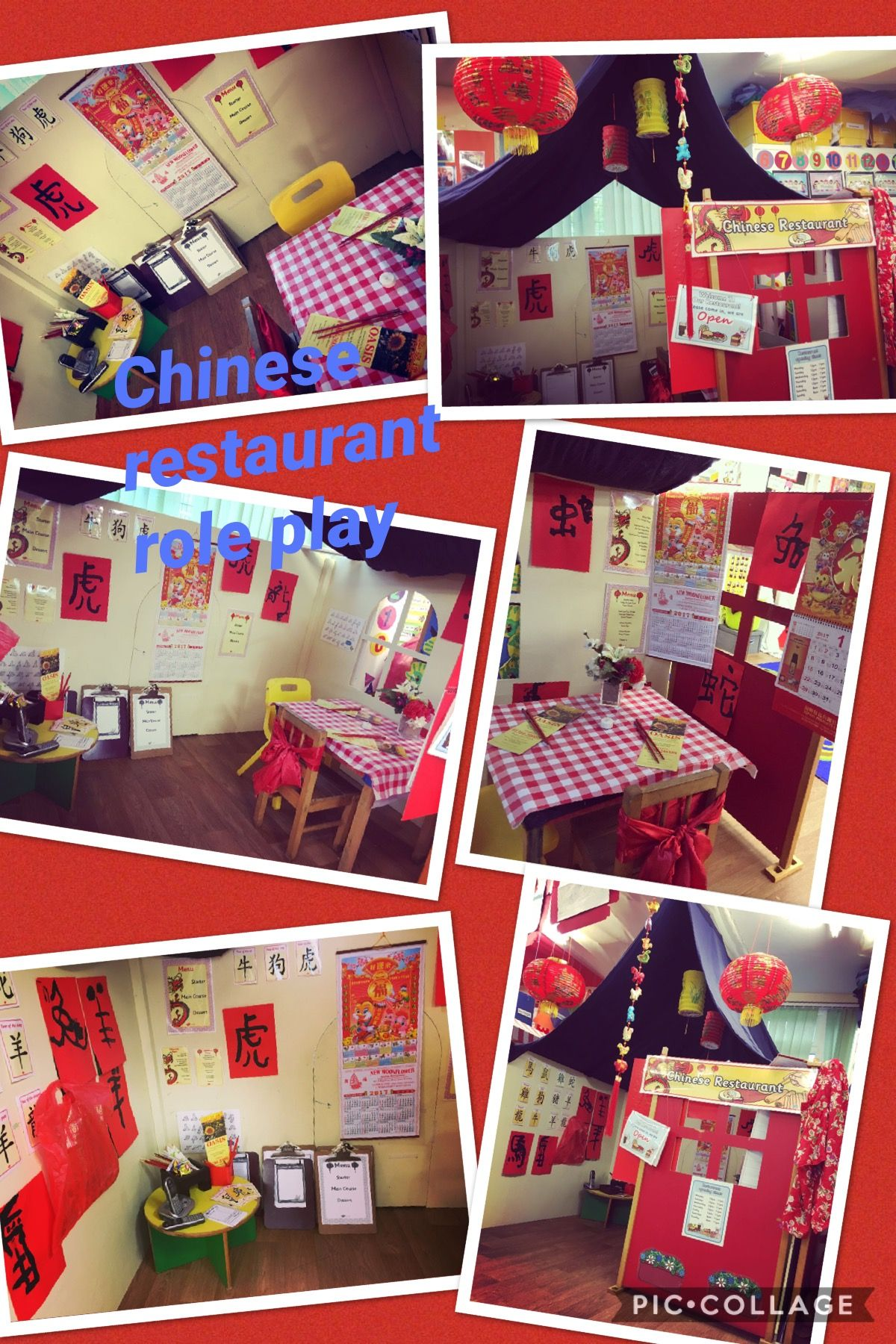 Chinese Restaurant Role Play Areas