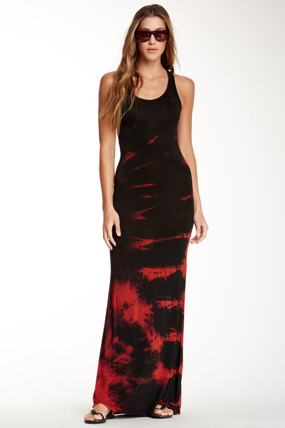 Go Couture | Go Couture Tie Dye Racerback Maxi Dress | Nordstrom Rack