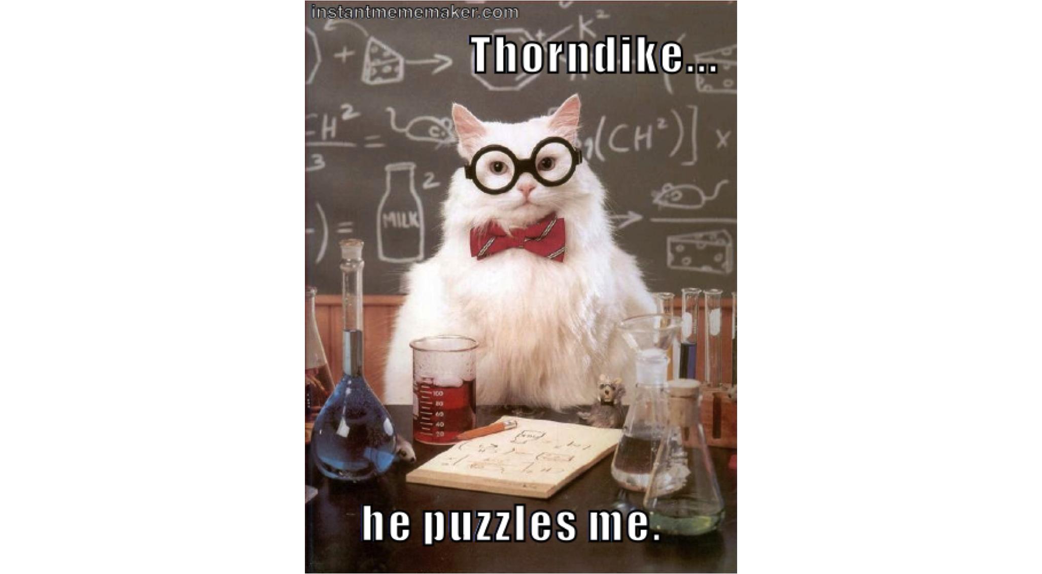 Thorndike S Puzzle Box