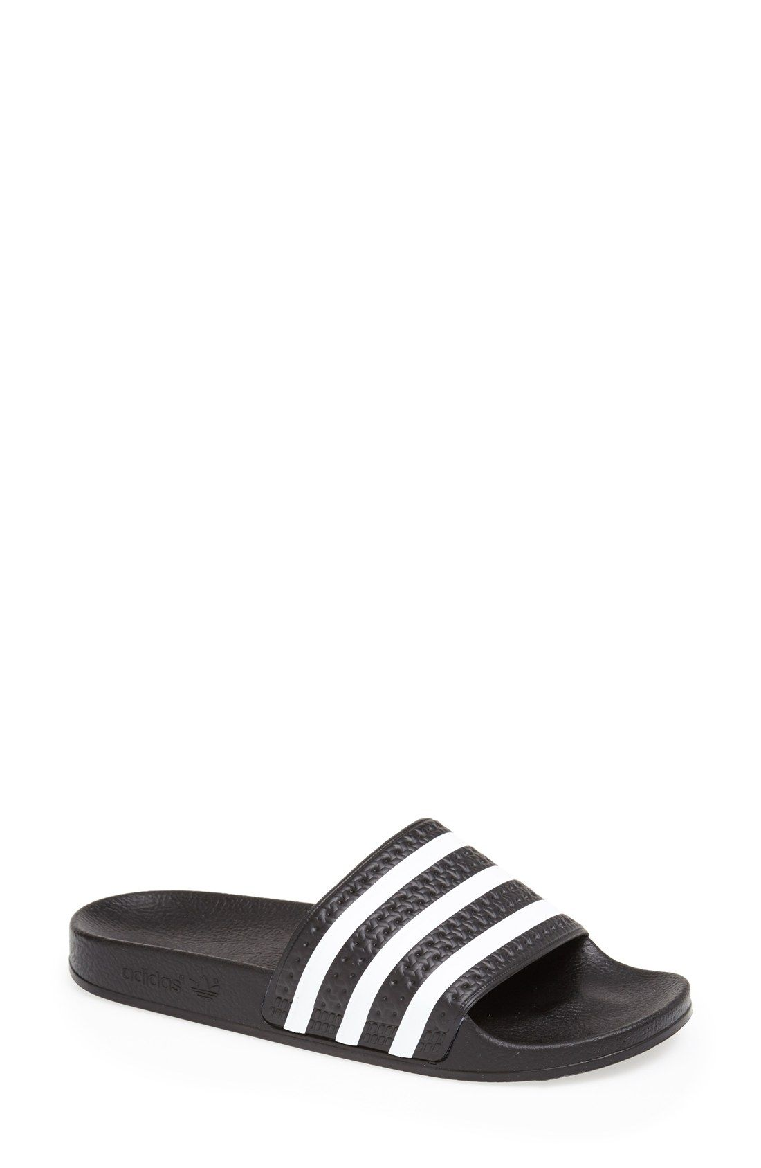 The Newest Women-Adidas Originals-Adilette W - White Online