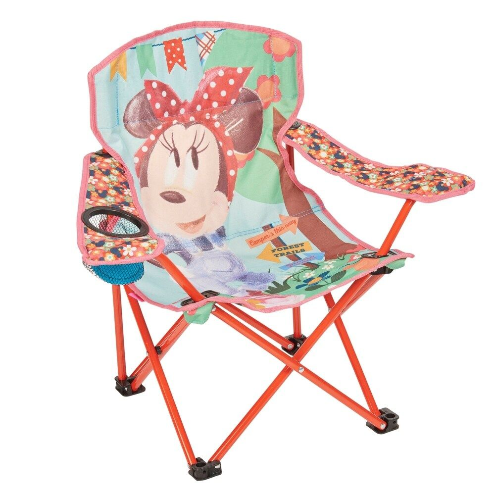 Disney Minnie Mouse Kids' Folding Chair, Blue in 2020