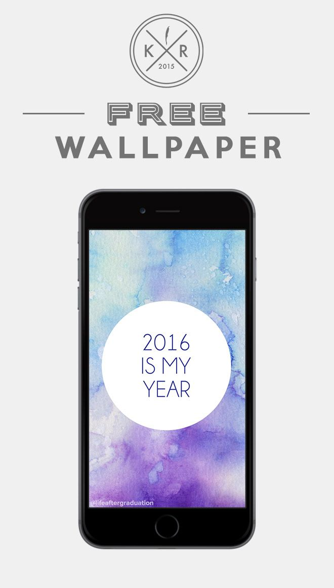 2016 Is My Year Wallpaper For Mobile, Android And IPhone On The Blog! Water