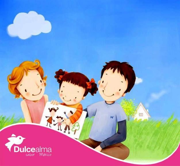 Nada como el amor de mamá y papá para empezar con amor una nueva semana... #FelizLunes #DulceAlma