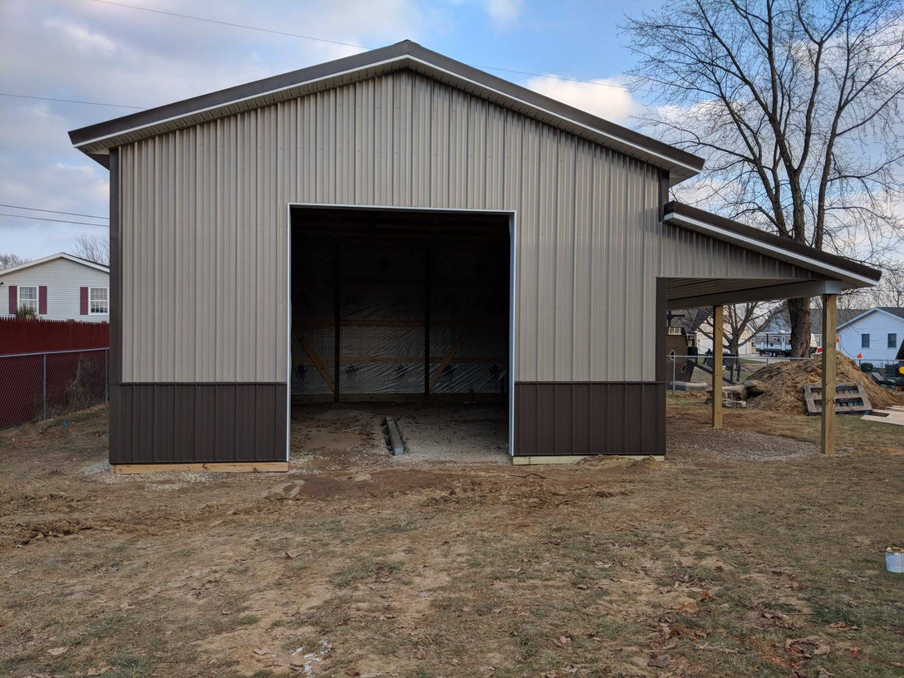 Wainscot Barn Design Metal Buildings Pole Buildings