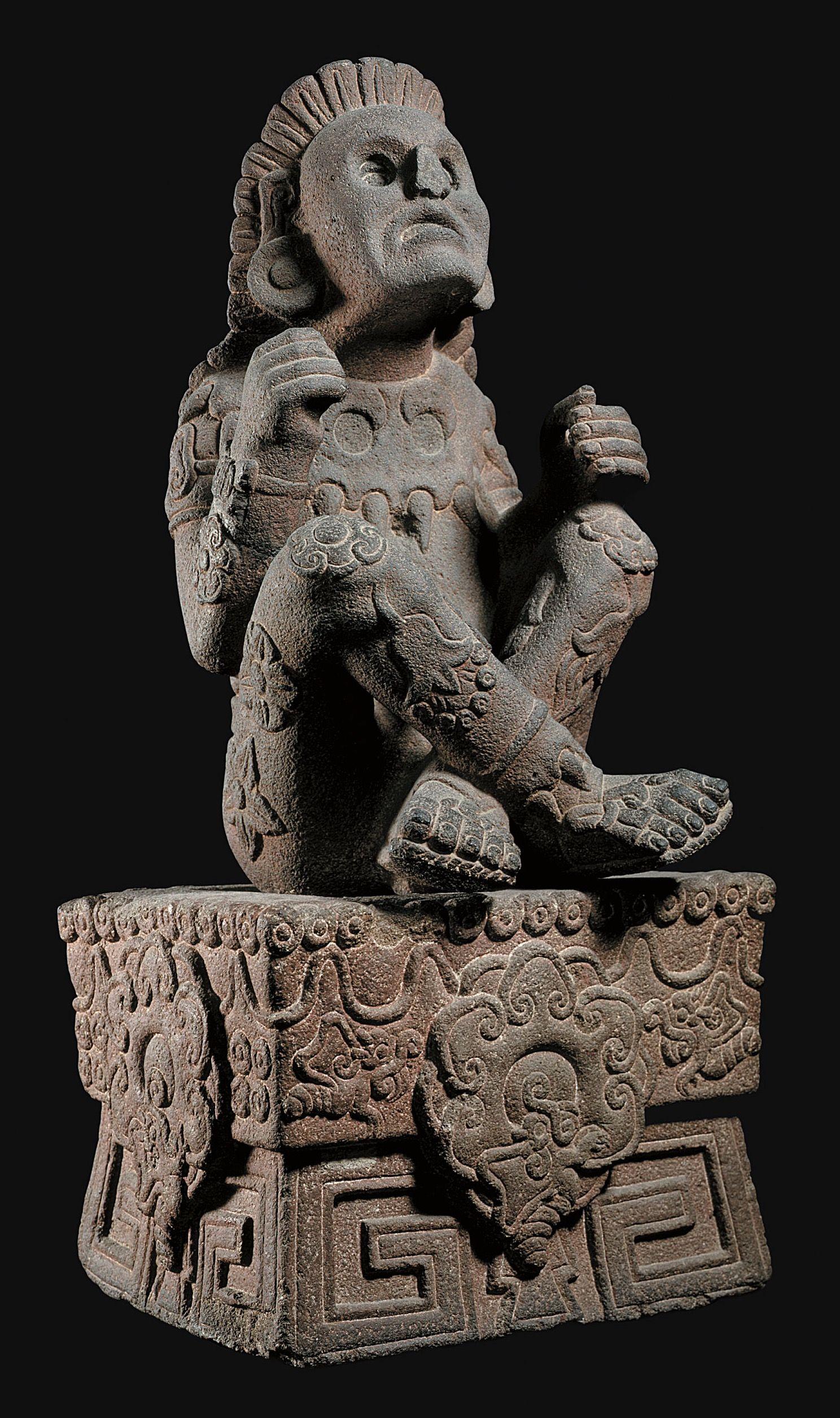 Xochipilli Aztec god of flowers, music, art. Arts of