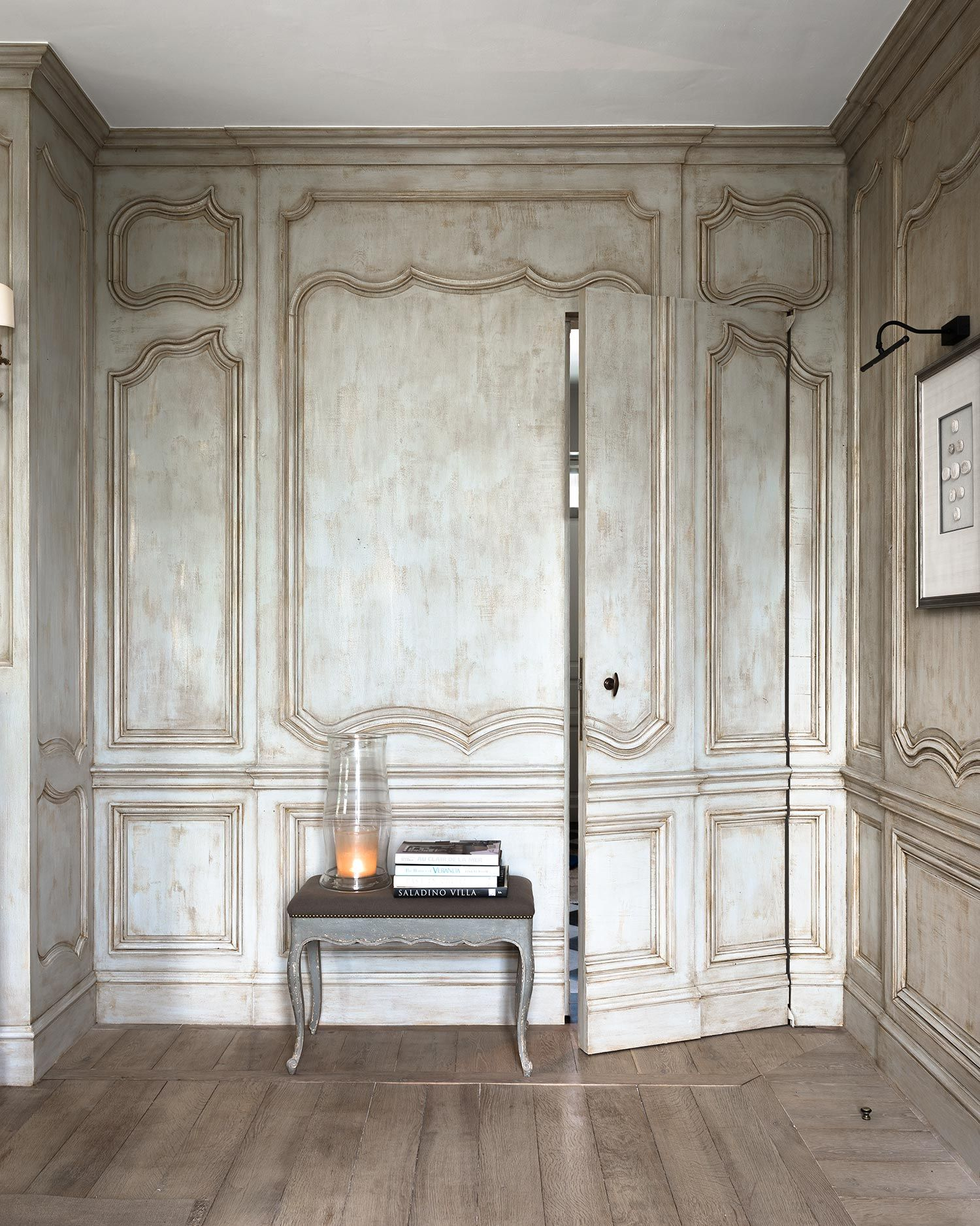 The art of furnishing Reclaimed wood floors, Interior
