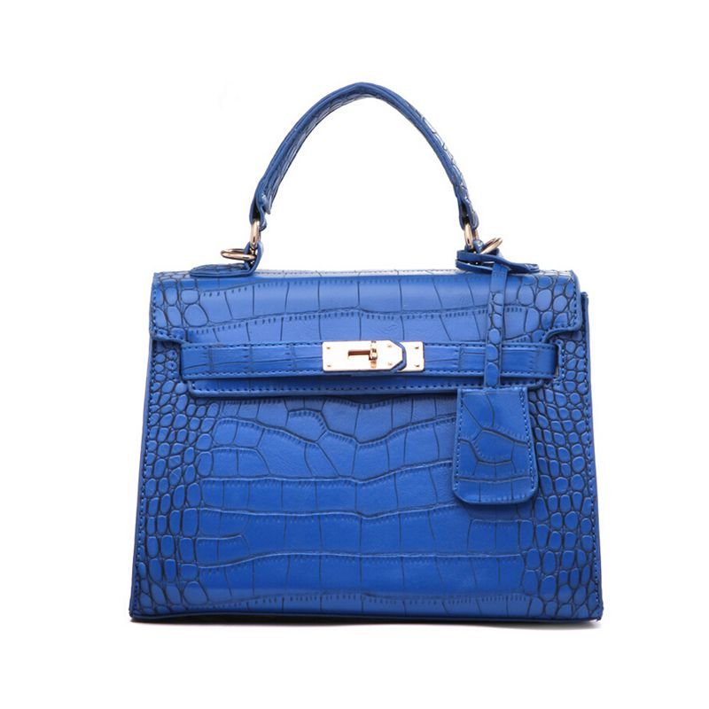 0189dbf794 Leather · European and American Style Alligator pattern bags for women  Queen easy-ornament Handbags Women Shoulder
