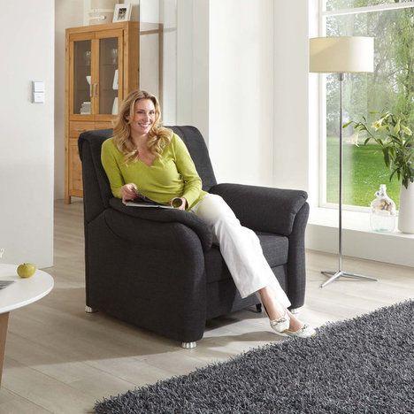 Sessel - anthrazit - Federkern hochwertige Verarbeitung Sitz Super