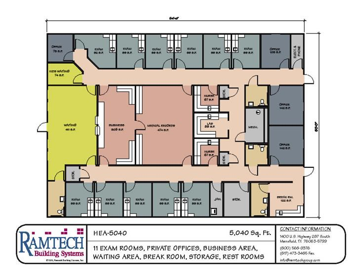 Pin by salvador on outpatient clinic pinterest clinic for Office blueprints design