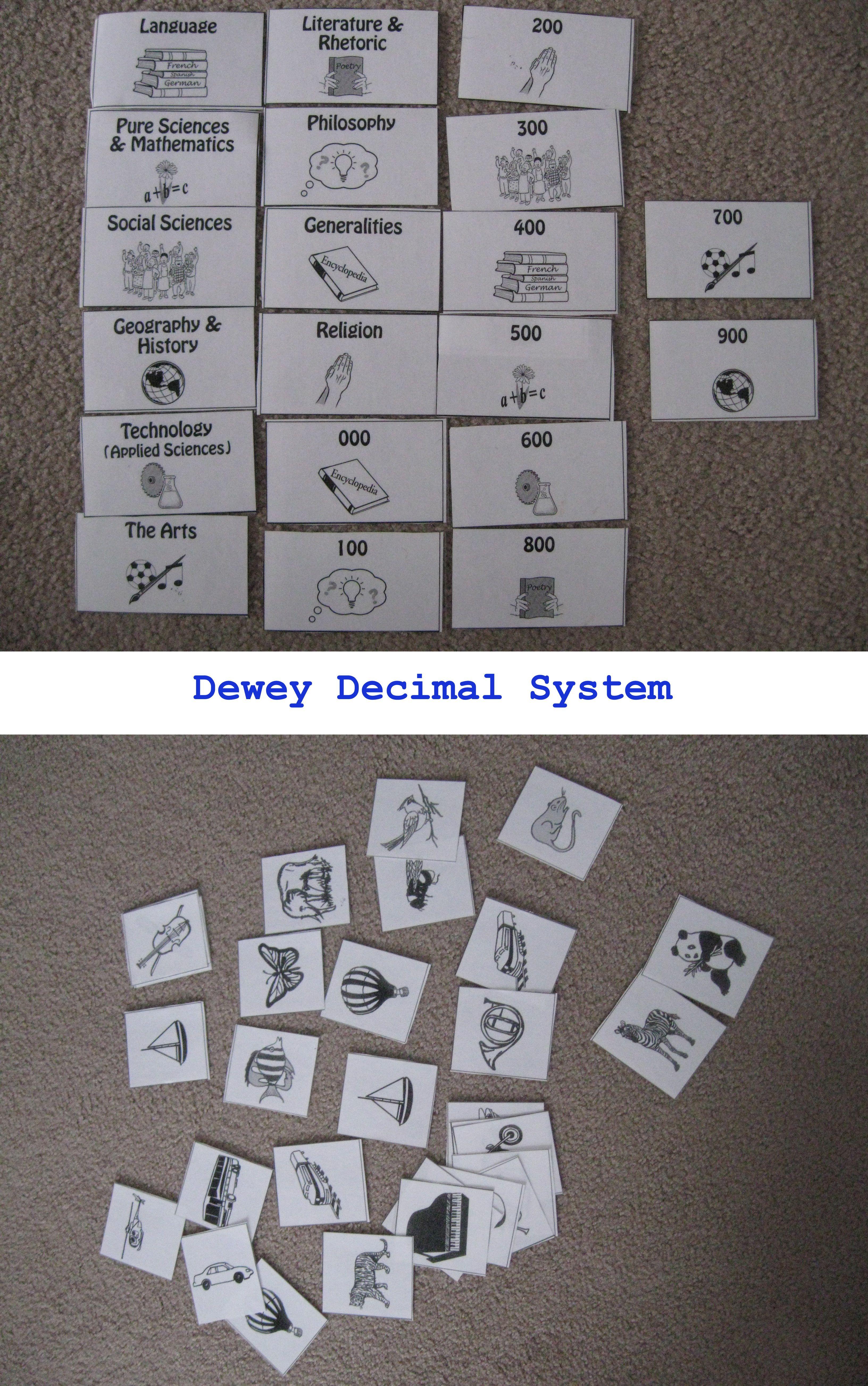 Learning The Dewey Decimal System