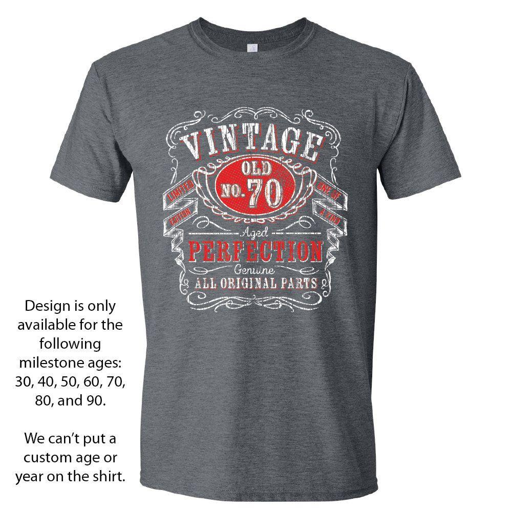 70th birthday gift 70th birthday shirts for him by