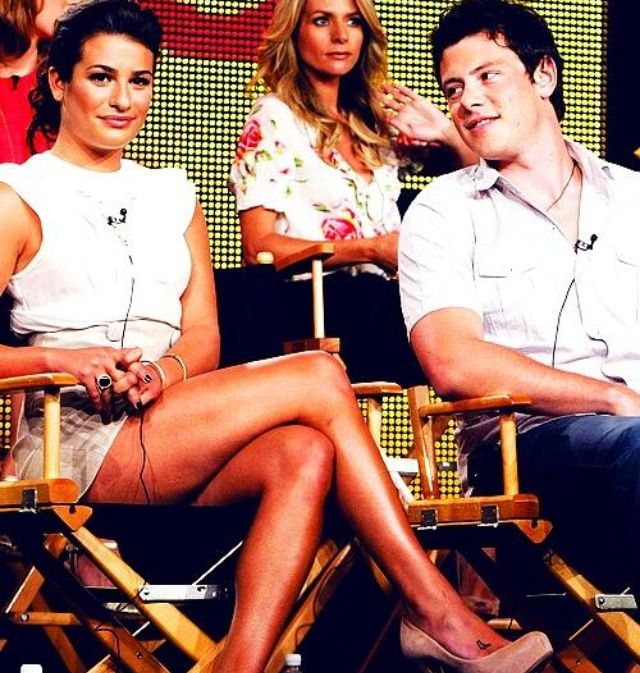 The way Cory looks at Lea..❤
