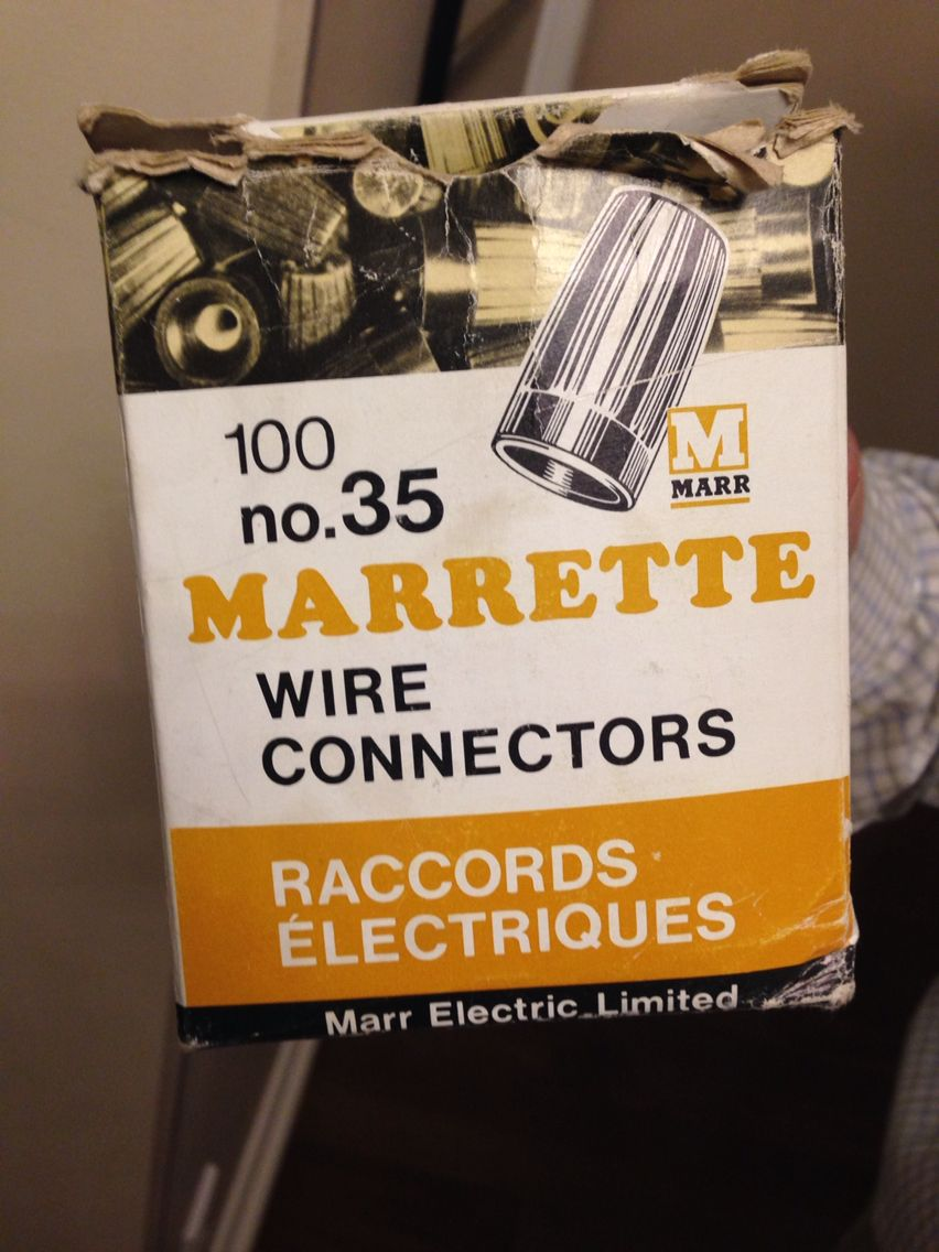 Old Aluminum Marrettes From The 1970s Unfortunately In Most Houses Copper Wiring Connectors Improper Were Used Along With Directly On Switches And