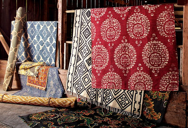 Bring Global Style To Your Floors With Cost Plus World Market Area Rugs