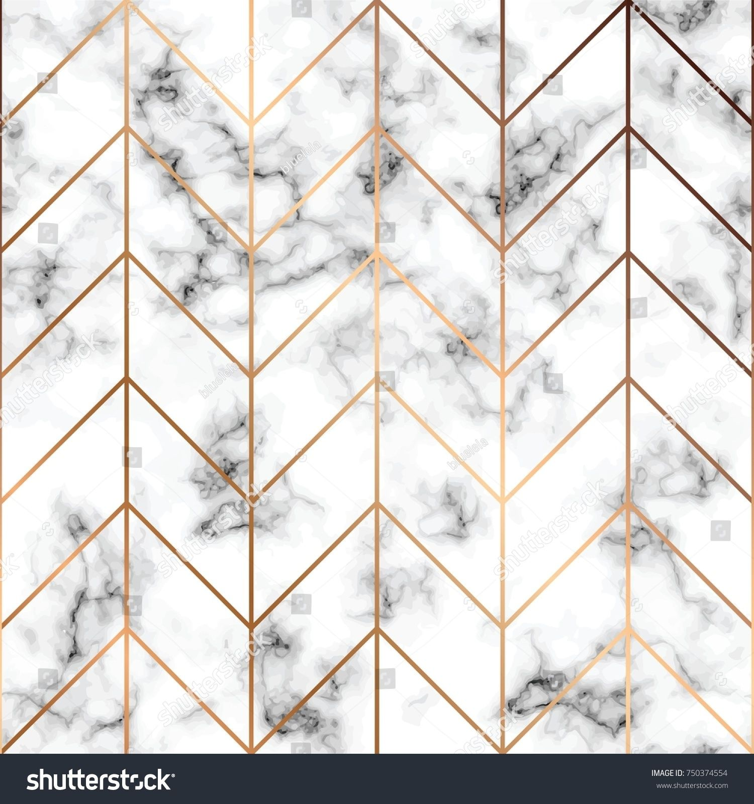 Vector Marble Texture Seamless Pattern Design With Golden Geometric Lines Black And White Marblin Marble Texture Seamless Marble Print Pattern Marble Texture