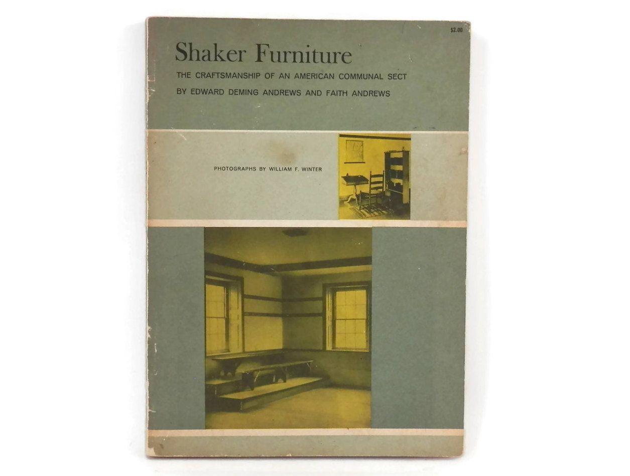 1950 Shaker Furniture Catalog  w/William F. Winter Photographs American Primitives