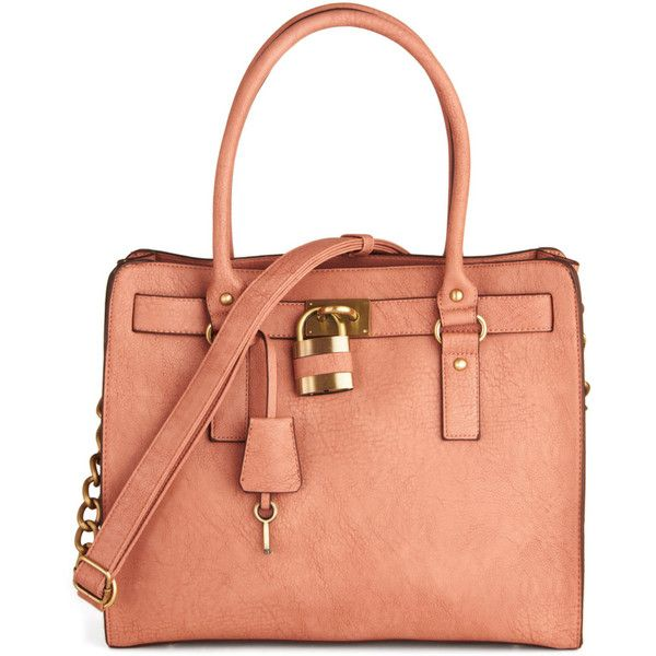 """Melie Bianco Full Course Load Bag in Rose - 15"""" ($98) ❤ liked on Polyvore"""