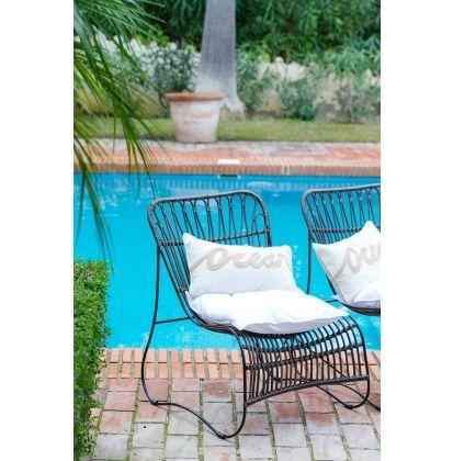 Summer Island Ocean Pillow Cover 50x30 - New Arrivals | Rivièra Maison